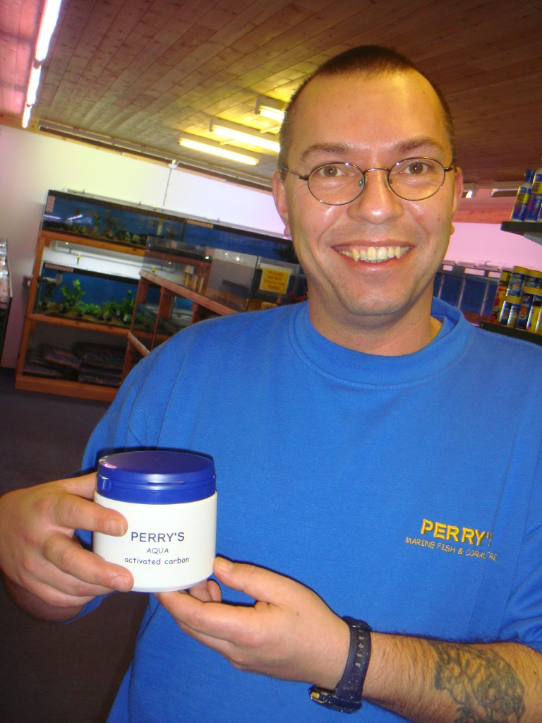 Wayne Perry - Owner of Perry's Aquatic Centre