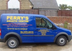 perrys aquatic centre sales van